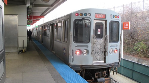 "Public Transit:  CTA Orange Line (""The El"")"